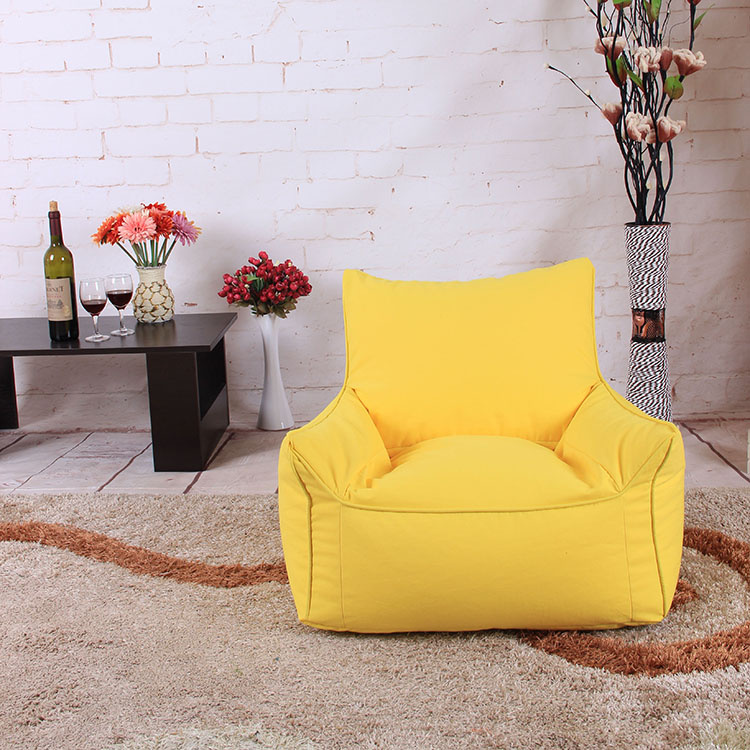 Bean Bag Lounger Sofa Chairs seat living room furniture Without Filling lazy seat zac Beanbags Levmoon