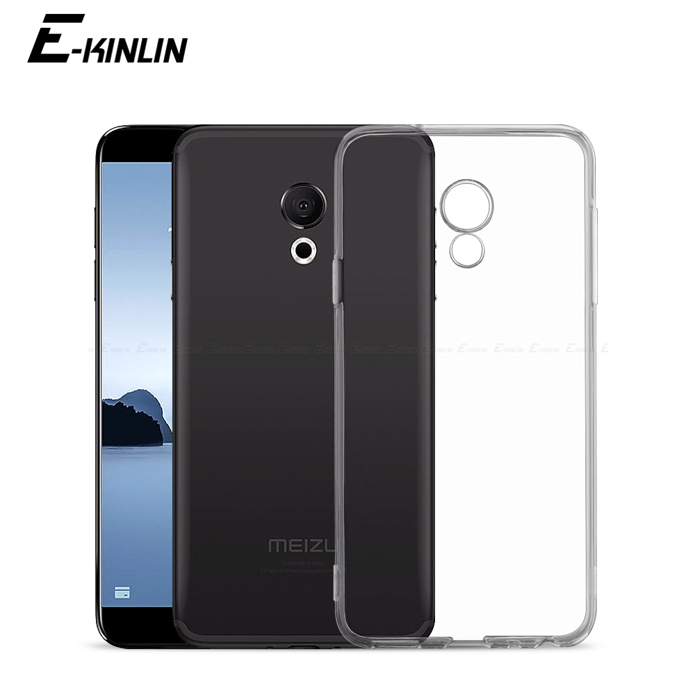 Ultra Slim Clear Silicone Case For <font><b>Meizu</b></font> E2 E3 U20 U10 M15 M10 A5 M3 M3e M3x <font><b>M3s</b></font> Mini Max M5 Note <font><b>Back</b></font> Soft TPU <font><b>Cover</b></font> image
