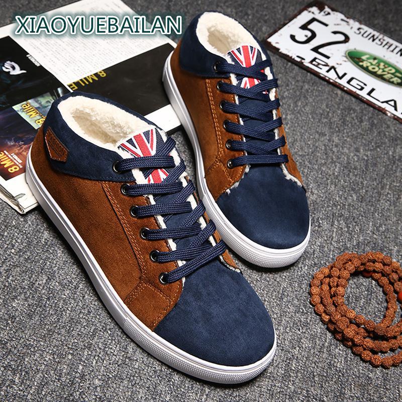 Masculina Para Cashmere Nos Britânico Quente Outono De Lazer Moda Confort Além Azul vermelho Inverno Casuais Sapatos Estilo Manter E Masculino wnPOBAPqt