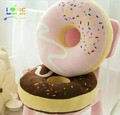 Candice guo de peluche de juguete divertido de algodón comida dulce donut de Chocolate buñuelo lindo almohada cojín para niños de cumpleaños regalo de navidad 1 unid