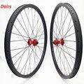 Углеродные mtb дисковые колеса 27 5 er бескамерные mtb колёса AM XC 37x24 мм симметричные Углеродные колеса надеюсь 4 boost 110x15 148x12 CN424
