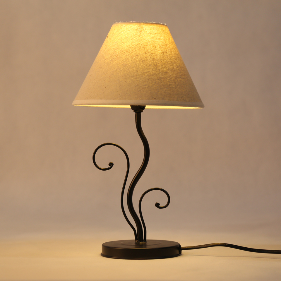 Moderne tissu abat jour lampe de table e14 lampes support de base led ampoule lampe de chevet chambre décoratif livre lumière éc