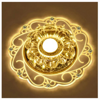 Modern Crystal Ceiling Lamps LED Saving Bright Ceiling Light Lamp Fixture Chandelier Style 2
