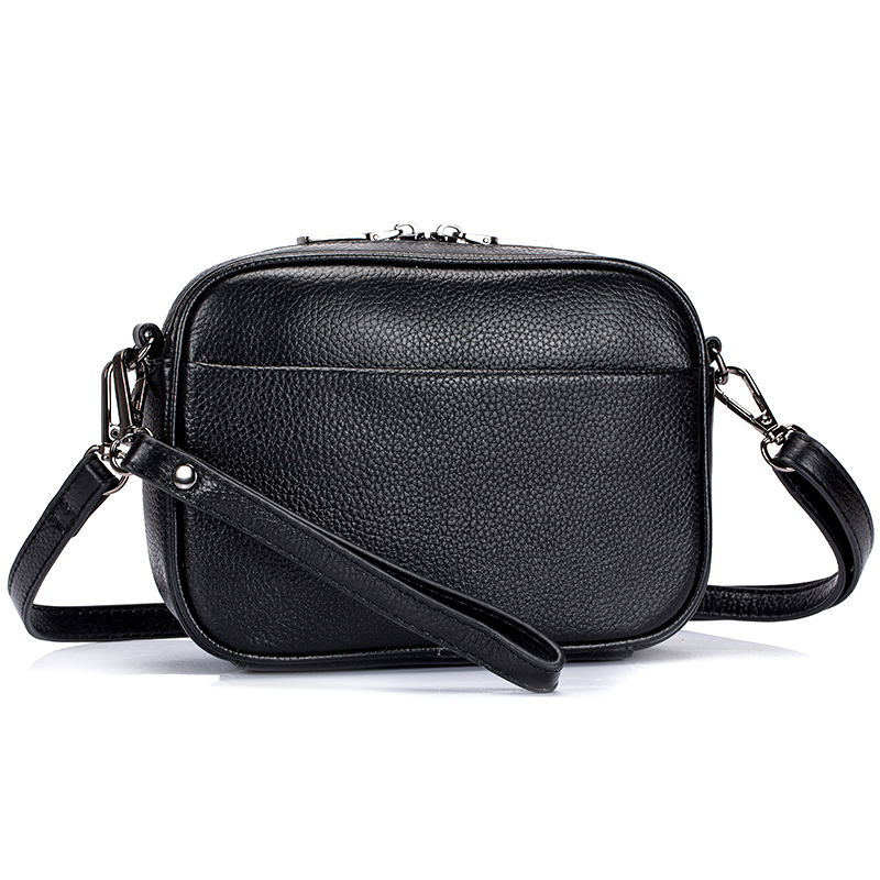 Bolsas Feminina 2018 New Arrivals Premium 100% Cowhide Leather Fashion Style Female Messenger Bags With Hand Rope Hot Brand Bags