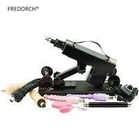 FREDORCH New Automatic Sex Machine Female Masturbation Pumping Gun with 5 Dildos Attachments Love Machines for Women