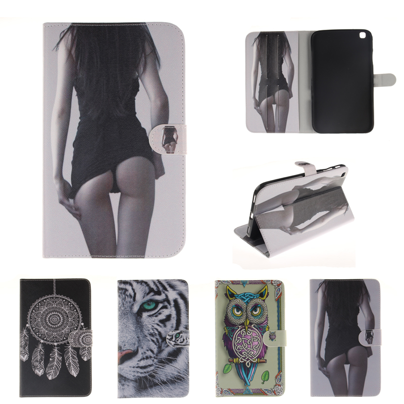 New Stand Case for coque Samsung Galaxy Tab 3 8.0 T310 T311 Stand Case for Galaxy Tab 3 8.0 inch