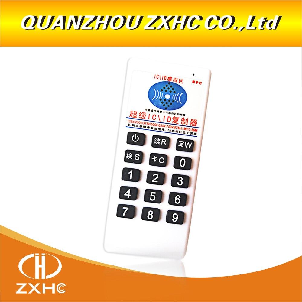 NOUVEAU RFID 125 khz/13.56 mhz IC Copieur Lecteur Écrivain pour EM4305 T5577 UID Modifiable Tag ajouter 5 pièces UID carte Fade ou 5 pièces em4305 clé