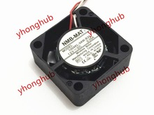 Free Shipping For NMB 1004KL-04W-B39, B51 DC 12V 0.05A, 25x25x10mm 3-wire 40mm Server Square cooling fan nmb mat 5910pl 07w b75 l54 dc 48v 0 85a 170x150x25mm server square fan