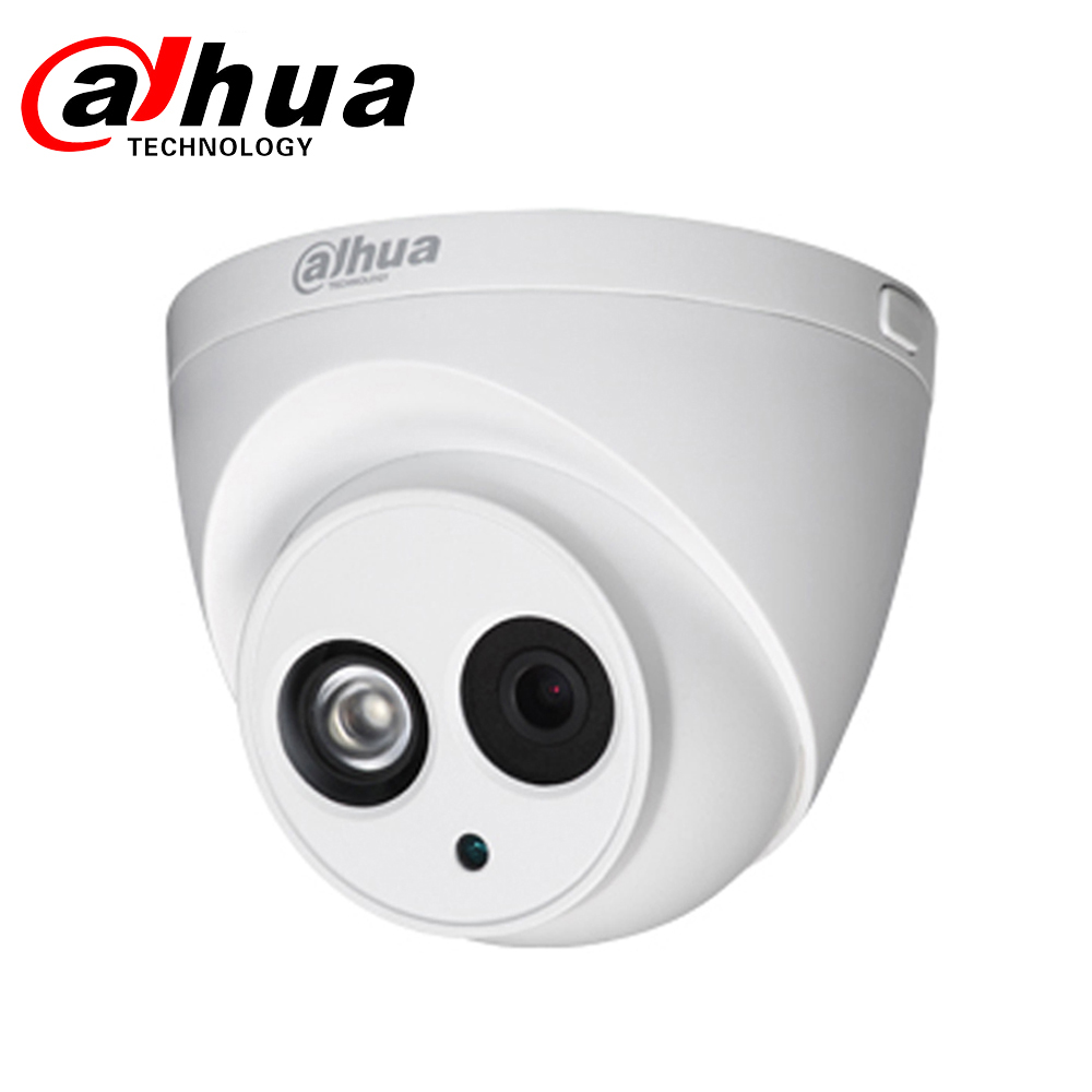 Dahua DH IP Camera IPC-HDW4433C-A 4433c-a MINI Dome CCTV Camera With Mic Network HD POE Security Camera Home PK IPC-HDW4431C-A