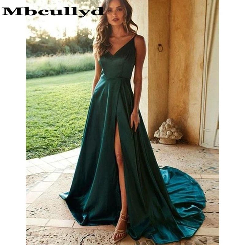 dark green prom dress