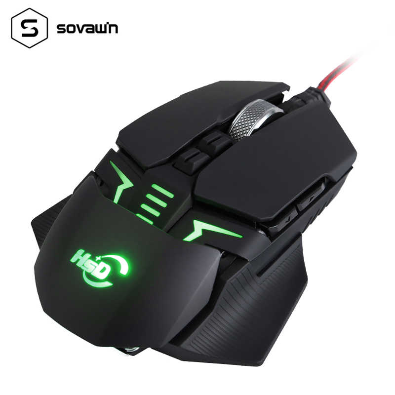 Gaming Mouse Macro Program Mause Wried Usb 4000 Dpi Professional 9 Button Mouse Gamer Ergonomic Optical Mice For Video Game Pubg Mice Aliexpress