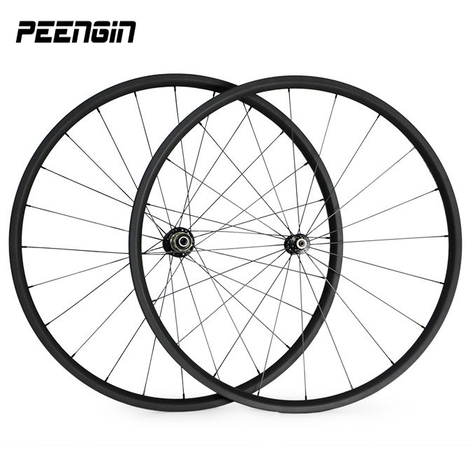 lightest 700C road bike wheels carbon 20mm depth 23mm width tubular wheel set bike wheelset novatec A271 F372/powerway r36 hubs ldcnc wheel set bya412 upgrade wheels set folding bike 14 inch lightest wheels lighter than mialo wheels