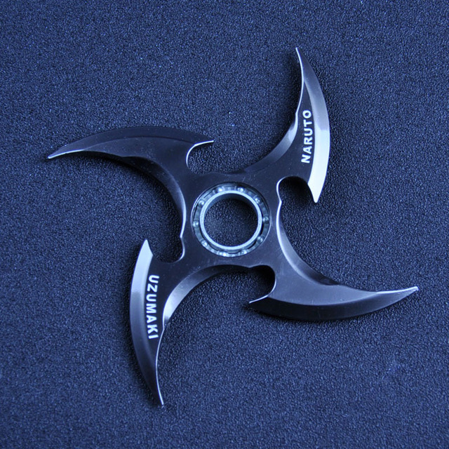Black Naruto Shuriken Alloy