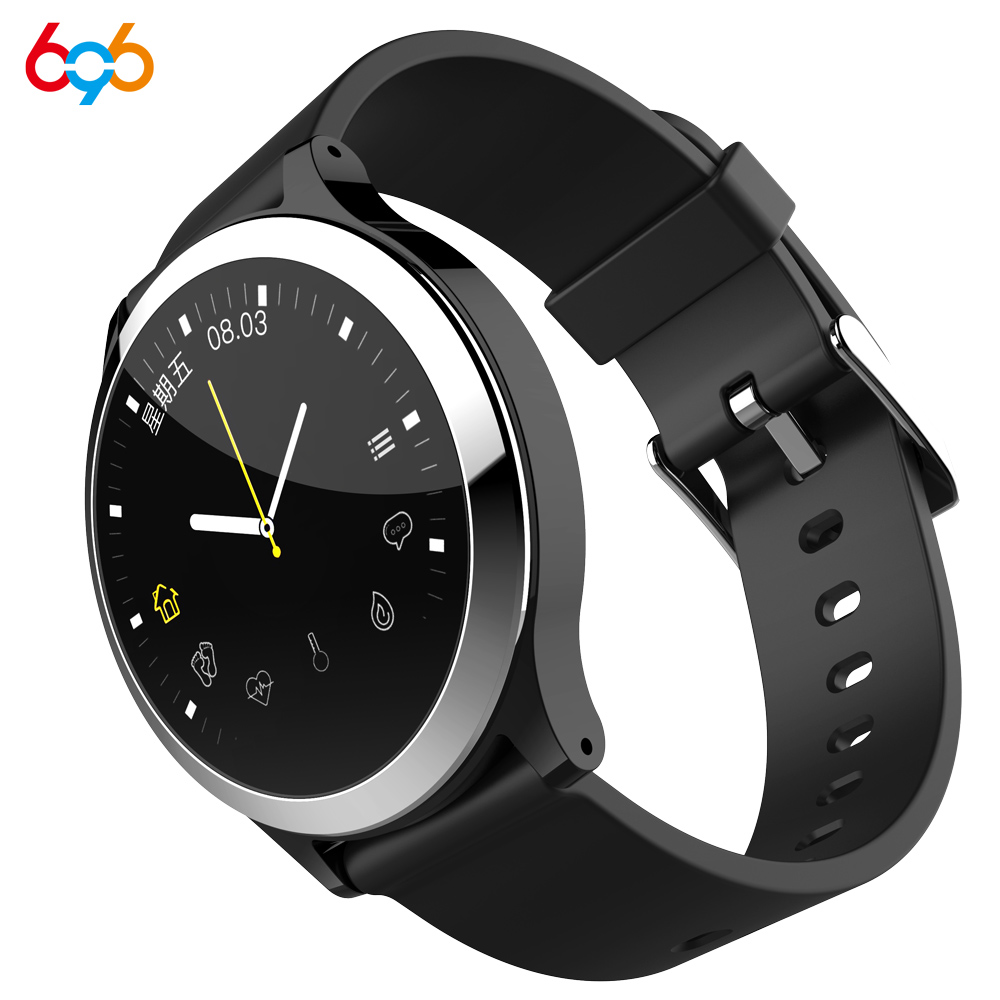 696 B65 Smart Watch ECG+PPG Blood Pressure Heart Rate Monitor Sport Smart Bracelet Fitness Tracker Waterproof Smartwatch