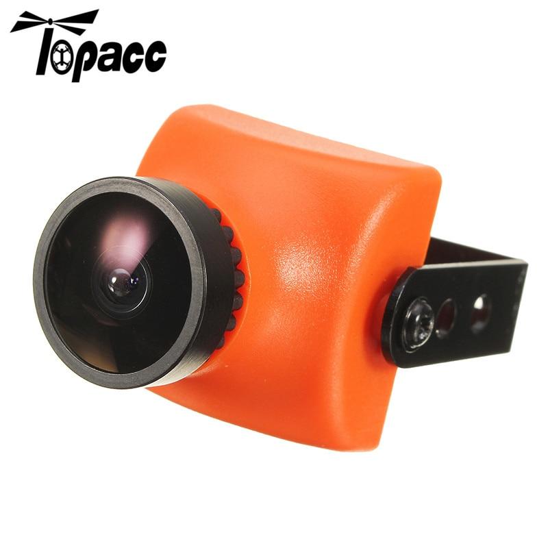 Hot New Arancione 1200TVL CMOS 2.5mm/2.8mm 130/120 Gradi Mini FPV Camera PAL/NTSC 5 V a 12 V Per Micro Racer Quadcopter