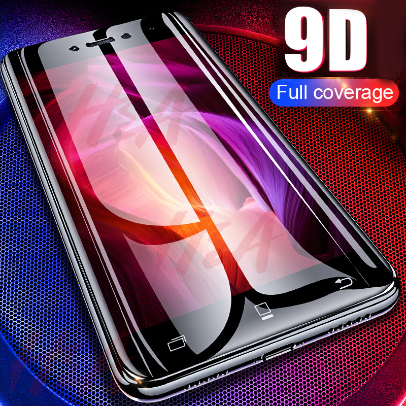 H&A Protective Glass On The For Xiaomi Redmi Note 4 4X 9D Full Curved Edge For Redmi Note 4 Global Version Tempered Glass Film