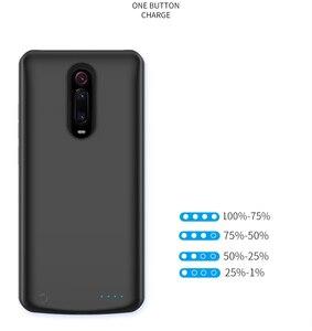 Image 3 - 5000 mAh chargeur de batterie pour Xiaomi Redmi K20 Pro Portable voyage charge batterie externe housse de téléphone ForRedmi K20 Pro Capa