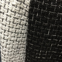 Free ship needle punched weaved tweed fabric 2 colors price for 2.5meters