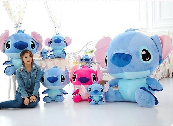 Fancytrader 47\'\' 120cm Biggest Huge Giant Stuffed Soft Plush Stitch, 2 Colors, Free Shipping FT50407 (8)