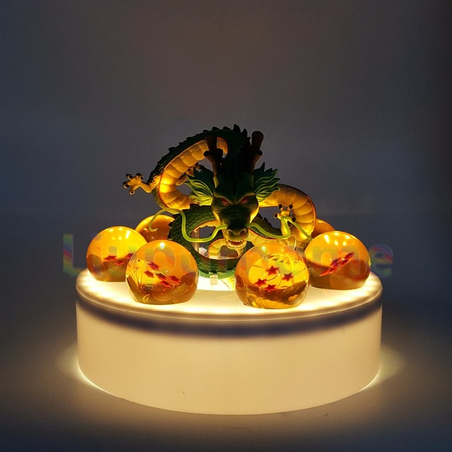 Dragon Ball Z Shenron Crystal Ball Led Lamp