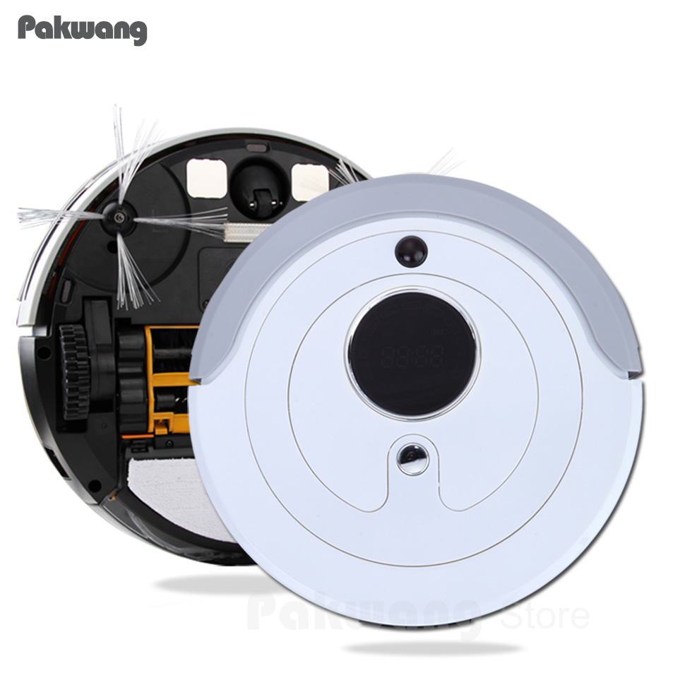 Low Noise Smart Automatic Robotic Vacuum Cleaner Collector Dust Extractor A380(D6601) Auto Recharge Robot Vaccum Cleaner remote 2017 new gift with uv lamp remote control lcd display automatic vacuum cleaner iclebo arte robotic aspirador