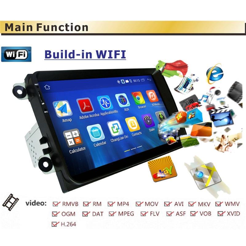 1 Din Android 5.1 Del Coche Reproductor de Radio Estéreo GPS 1G DDR3 + 16G NAND