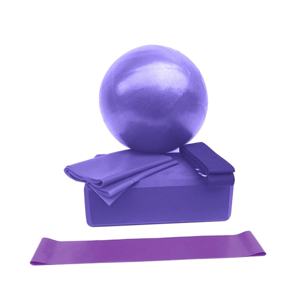 5 Pçs set Bola Yoga Yoga Telha