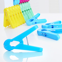 20pcs Wholesale Hangers Rack Clothespin Beach Towel Clip Bed Sheet Clothespins Quilt Clip Underwear Clips Windproof