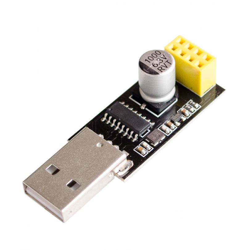 <font><b>10pcs</b></font>/lot CH340 USB to ESP8266 <font><b>ESP</b></font>-<font><b>01</b></font> Wifi Module Adapter Computer Phone Wireless Communication Microcontroller for Arduino image