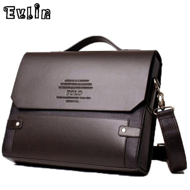 Man Business Briefcase Bag High Quality Leather Men Briefcases Office Work Bags Famous Brand Large Size Bag 39503
