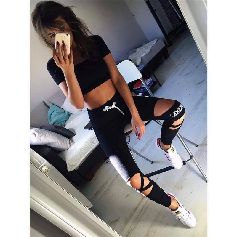 2017 Two Piece Set Tracksuit Camouflage Sexy Sleeveless Sweatsuits For Women Sets Cropped Survetement femme military 3