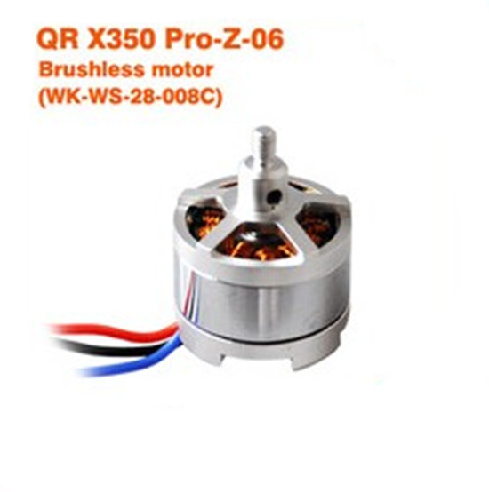 F08730 Walkera QR X350 PRO Brushless Motor QR X350 PRO-Z-06 (WK-WS-28-008C) free shipping walkera f210 z 22 racer counter clockwise brushless motor ccw wk ws 28 014a