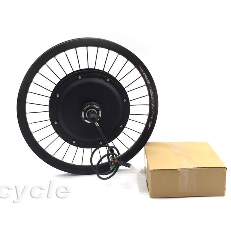 50 km / saat sürət Arxa və ya ön təkərli elektrikli velosiped dəsti 1000w 48v elektrikli velosiped dönüşüm dəsti