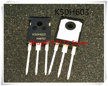 10PCS/LOT IKW50N60H3 TO247 K50H603 TO-247 IKW50N60 IC