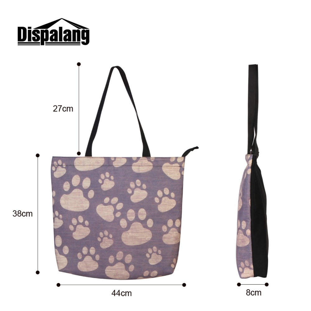 Pretty Messenger Bag Patterns Musical Notes Printing Shoulder Bag for Girls Big Capacity Zipper Tote Bag Casual Shopping Bag 3