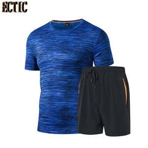 902c124f men running short pants for men Clothes sports Tee 2018 Men's Gym Running T  Shirt