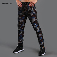 ФОТО men clothes 2018 camouflage trousers military elastic pant mens casual pants comfortable bottoms exercise joggers sweatpants
