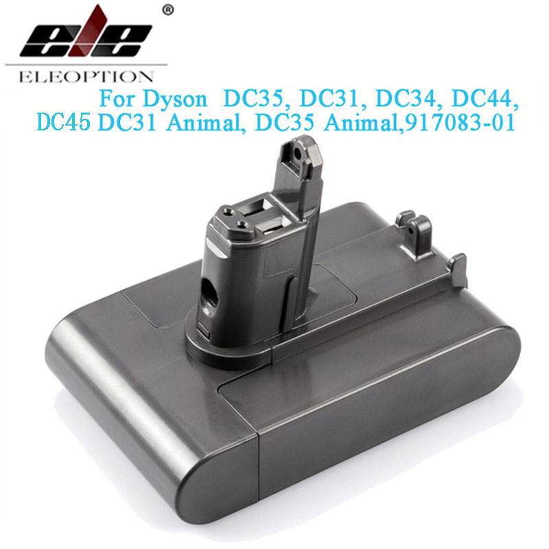 22,2 V 3000mAh (Nur Fit Typ B) Li-Ion Vakuum Batterie für Dyson DC35, DC45 DC31, DC34, DC44, DC31 Tier, DC35 Tier & 2.5Ah