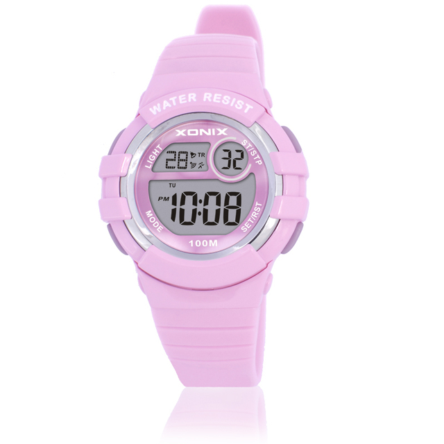 Digital Running Swimming In top Watch Montre Waterproof Wristwatch Us18 Multifunction Sports 100m Femme Diving 46Off 99 Watches Girls Women IE9HD2