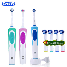 Oral B Sonic Electric Toothbrush Rechargeable Oral Hygiene Teeth Whitening Vitality Tooth Brush Rotating Dental Brush Teeth цены онлайн