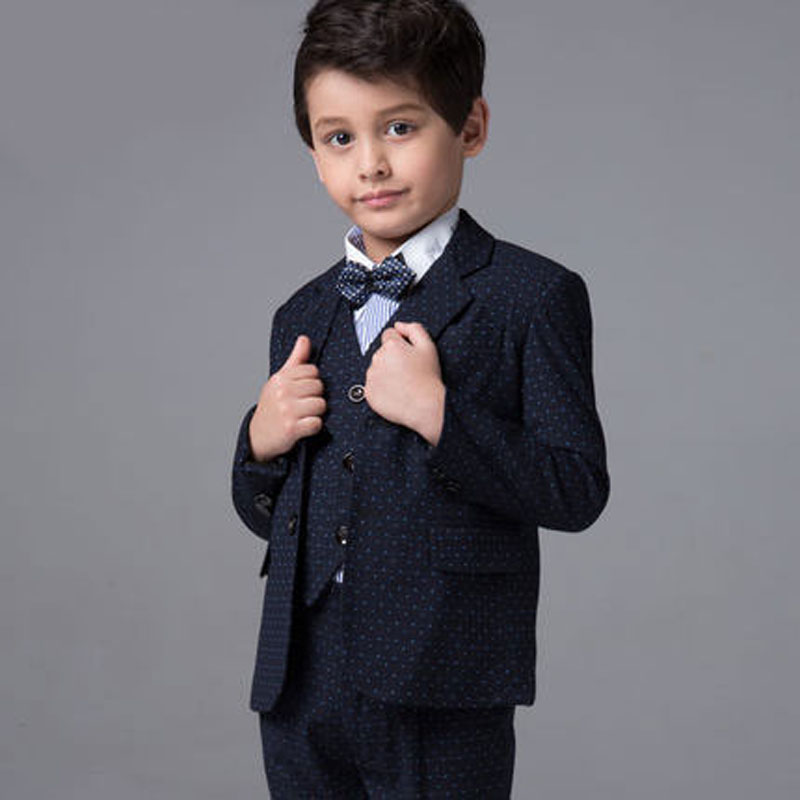 High quality  new fashion boys children blazers suits boys suits for weddings formal black wedding suit flower boy suits 2016 new arrival fashion baby boys kids blazers boy suit for weddings prom formal wine red white dress wedding boy suits