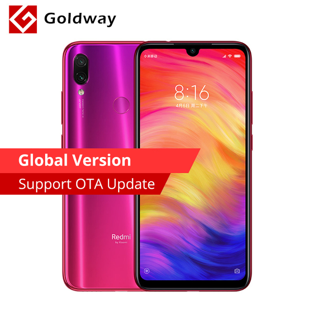 "Global Version Original Xiaomi Redmi Note 7 4GB 128GB Smartphone Snapdragon 660 Octa Core 6.3"" Full Screen 48MP+5MP Dual Camera"