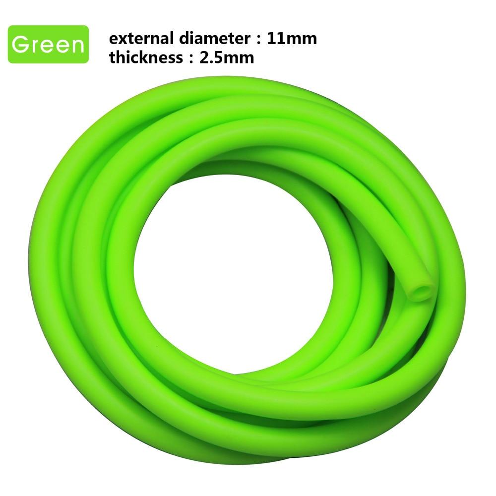 3m elastische multifunktionale Fitness Gürtel Krafttraining grün - Fitness und Bodybuilding - Foto 3