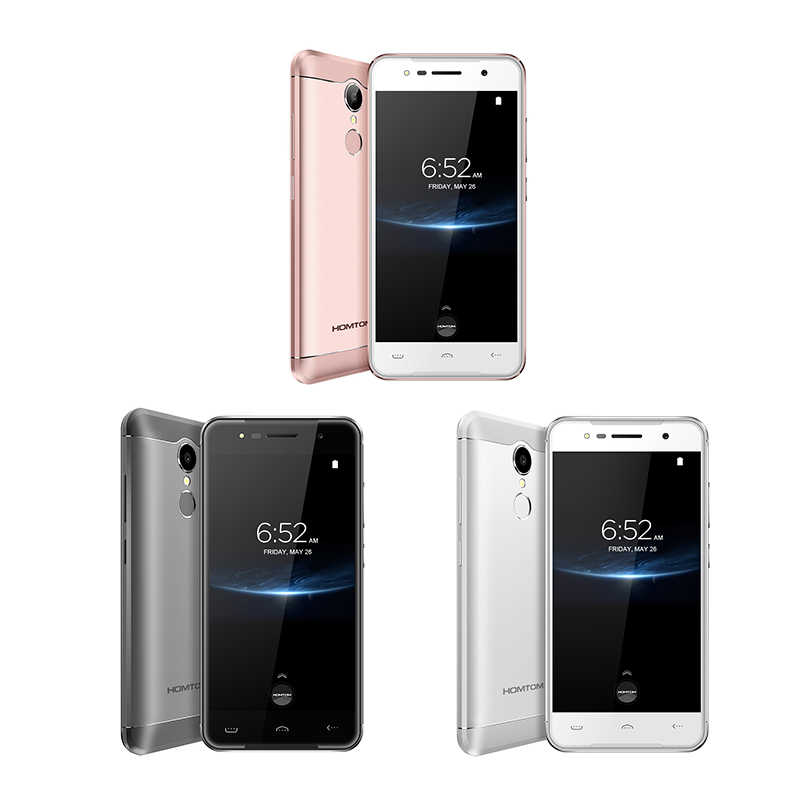 HOMTOM HT37 Pro смартфон 4G двойной динамик MTK6737 5,0 дюймов HD Android 7,0 3 ГБ + 32 Гб 13 МП 3000 мАч отпечаток пальца ID мобильный телефон
