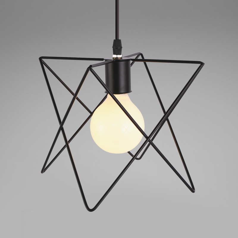 pendant lamp lighting bar cafe lights vintage Pendant Light for living room luminaria iron black hanglamp light fixtures new loft vintage iron pendant light industrial lighting glass guard design bar cafe restaurant cage pendant lamp hanging lights