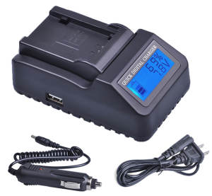 Battery-Charger Panasonic for Vwvbn130/Vw-vbn130/Vw-vbn260/..