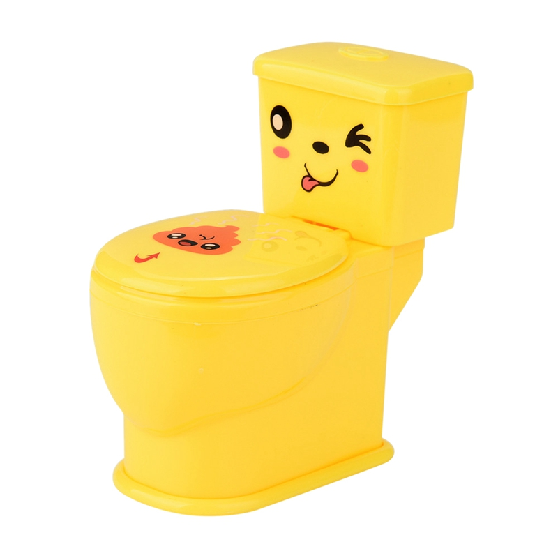Mini Prank Squirt Spray Water Toilet Tricky Toilet Seat Gifts Anti-Stress Gags Toy For Kids Play
