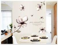 المطبخ ملصقا الحب النقي الطبيعي زهرة الجدار ملصق ديكور الفن