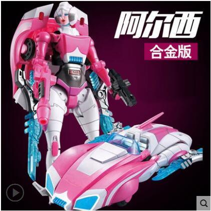 Transformation MMC G1 Deformation Toy Robots Arcee Cee Female RoBot Classic Animation Alloy Action Figure Child Gifts