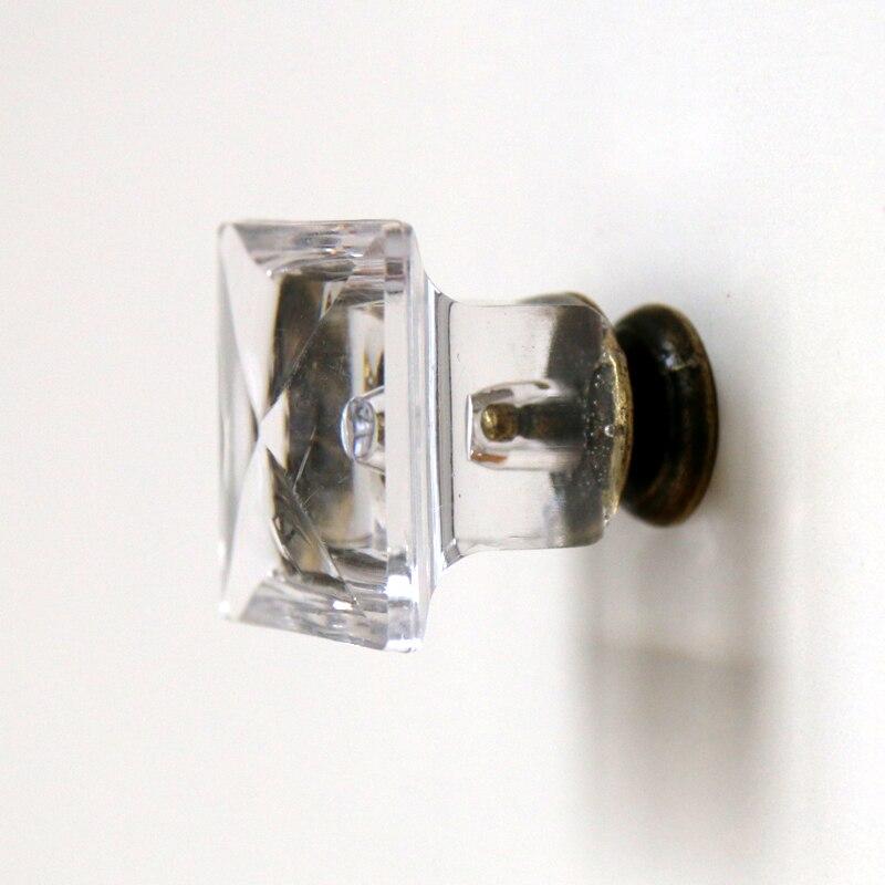 Attrayant 10pcs 27mmClear Acrylic Cabinet Knobs Dr. Cap Shape Cupboard Dresser Drawer  Handle Pulls Kidu0027s Room